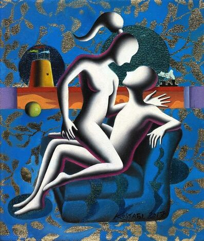 Mark Kostabi, 'Hello from the Other Side', 2017