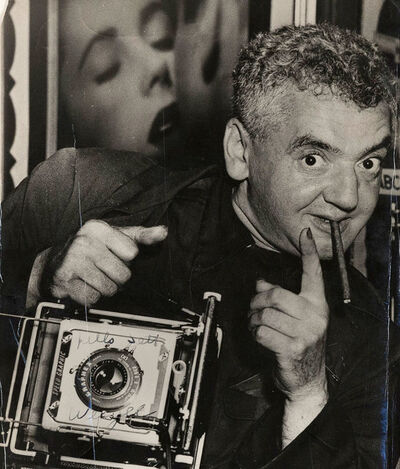 Weegee, 'Self-portrait', ca. 1950