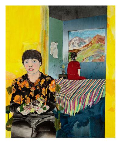 Maria Berrio, 'Flower Mirror Water Moon', 2019