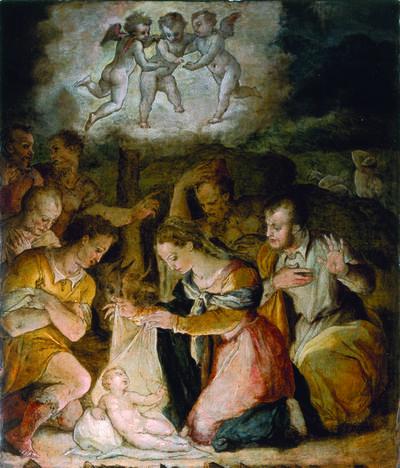 Giorgio Vasari, 'The Adoration of the Shepherds', ca. 1554
