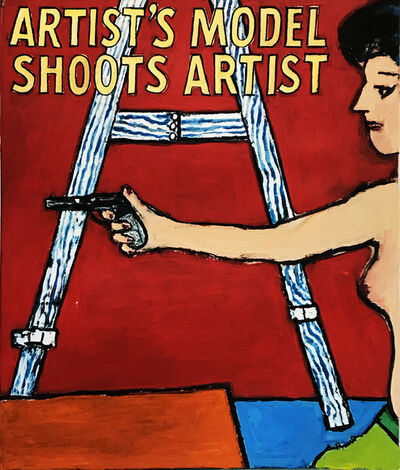 Richard Huntington, 'Model Shoots Artist', 2020