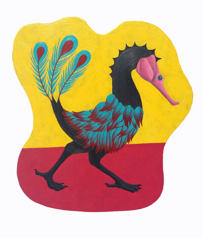 Xiao Lu Liu, 'Seahorse Bird', 2019