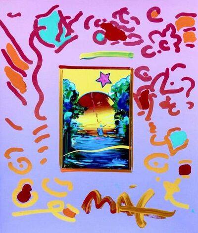 Peter Max, 'Better World', 1998