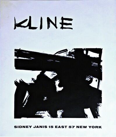 Franz Kline, 'Franz Kline at Sidney Janis Gallery', 1958