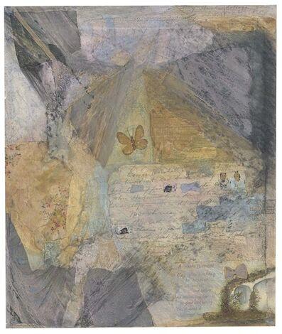 Betye Saar, 'Letters from Home #5 Birthday Greetings', 1976