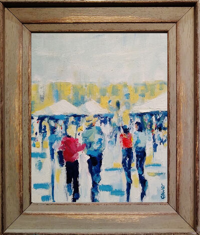 Richard Gower, 'Market Stroll', 2019