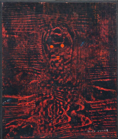 Max Ernst, 'Loplop in the forest', 1958