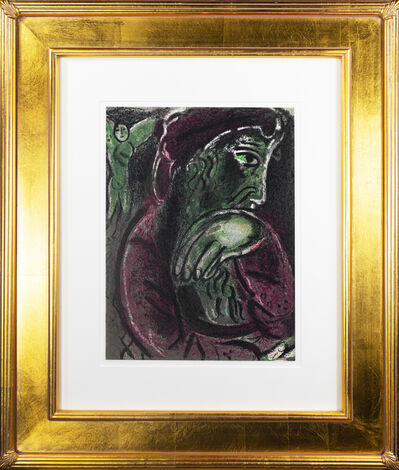 Marc Chagall, 'Job Désperé (Job in Despair), M 254/277', 1960