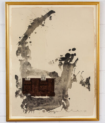 Robert Motherwell, 'Tobacco Roth', 1975