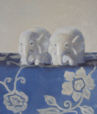 Olga Antonova, 'Two Elephants', 2018