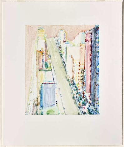 Wayne Thiebaud, 'Untitled (Bright City)', 1991