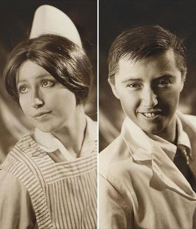Cindy Sherman, 'Doctor and Nurse, Diptych', 1980