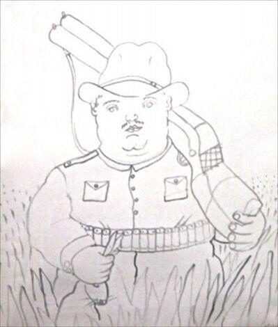 Fernando Botero, 'Hunter', 1980