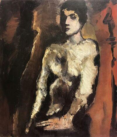 Mario Sironi, 'Seated Figure', 1930