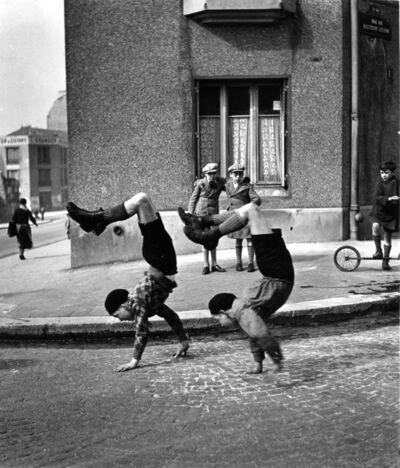 Robert Doisneau, 'Les Freres, Paris', 1934