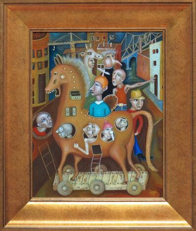 Salvador Di Quinzio, 'Trojan Horse', 2017