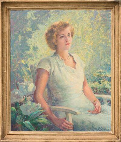 John William Orth, 'Untitled Female Portrait in Dress', 1949