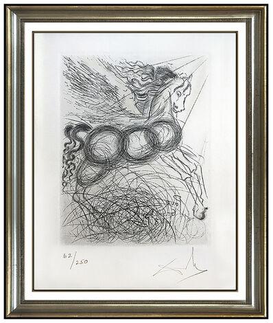 Salvador Dalí, 'Salvador Dali Authentic Etching Pegasus Horse Hand Signed Mythology Surreal Art', 1968