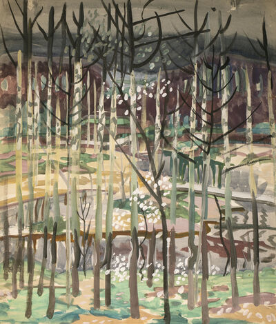 Charles Ephraim Burchfield, 'Trees', 1917