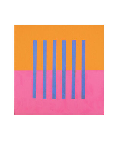 Donald Alberti, 'Visual Logic (blue, rose, orange)', 2003