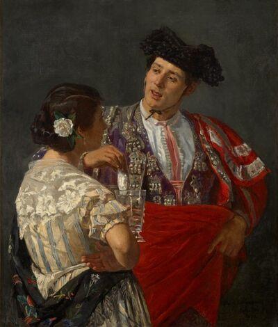 Mary Cassatt, 'Offering the Panal to the Bullfighter', 1873