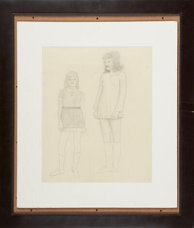 Morton Bartlett, 'Untitled (fashion girls)', ca. 1950