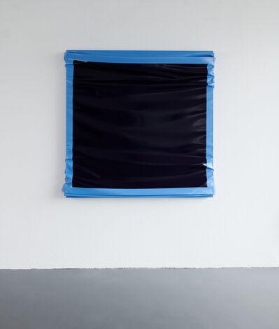 Angela de la Cruz, 'Layers - Large (Ultramarine Blue/ Light blue)', 2019