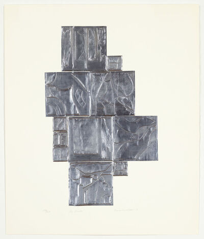 Louise Nevelson, 'Sky Garden, Lead', 1971