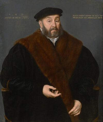 Nicolas Neufchatel, 'Portrait of Valentin Kötzler', 1564