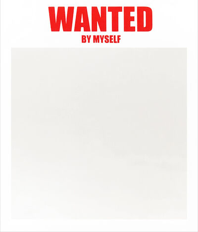 Lenora de Barros, 'WANTED BY MYSELF', 2019