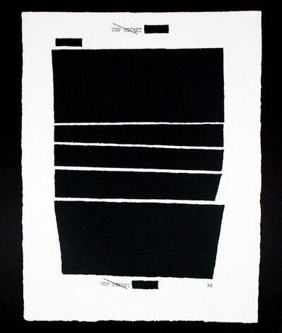 Jenny Holzer, 'Top Secret 32', 2012