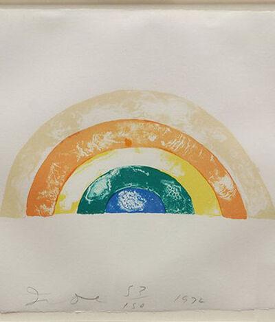 Jim Dine, 'Rainbow', 1972
