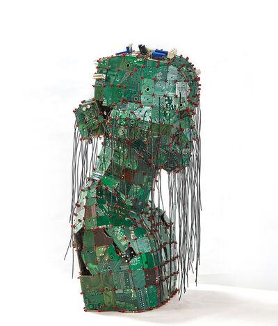 Liu Bolin, 'Woman', 2019