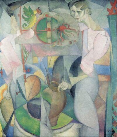Diego Rivera, 'La mujer del pozo ', 1913