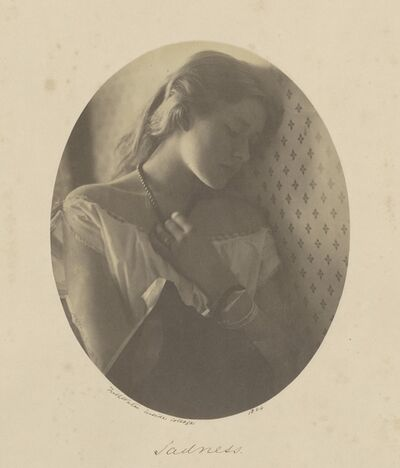 Julia Margaret Cameron, 'Sadness', 1864