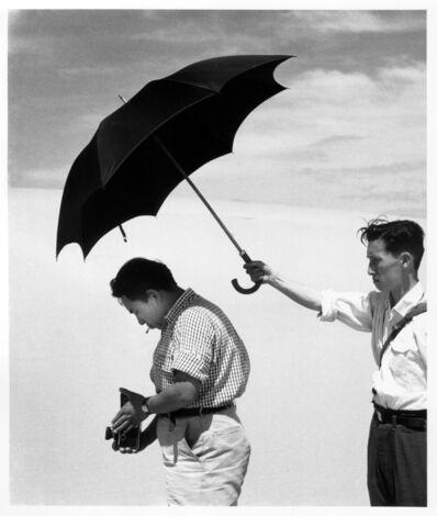 Shoji Ueda, 'Ken Domon and Mr. Asakura', 1949