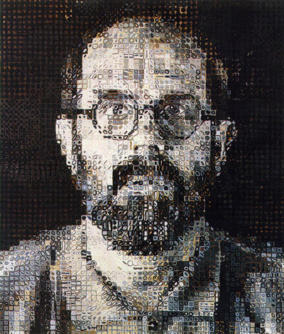 Chuck Close, 'Self-Portrait (Rigid)', 1982