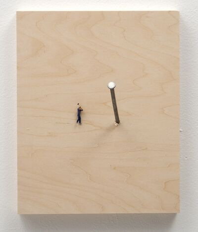 Liliana Porter, 'Man with Nail', 2014