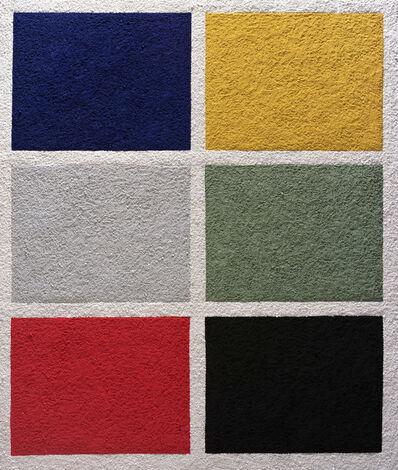 Vik Muniz, 'Six Colors, after Gerhard Richter', 2008