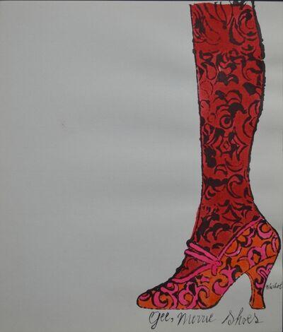 Andy Warhol, 'Gee Merrie Shoes', ca. 1955