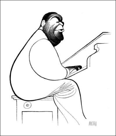 Al Hirschfeld, 'Fats Waller', 1996