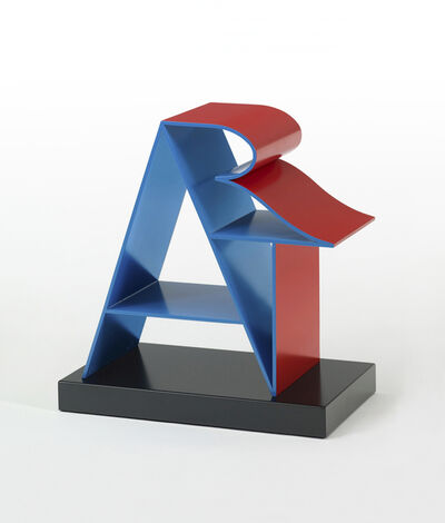 Robert Indiana, 'ART (Blue Red)', 1972-2000