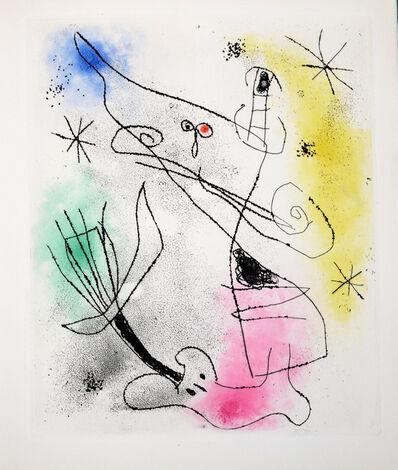 Joan Miró, 'Feuilles Eparses', 1965
