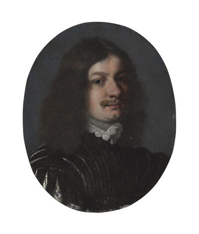 Gonzales Coques, 'A portrait of a gentleman, bust-length'