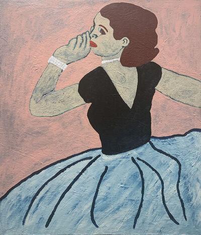 Naj Amani, 'Femme en Bleue', 2019