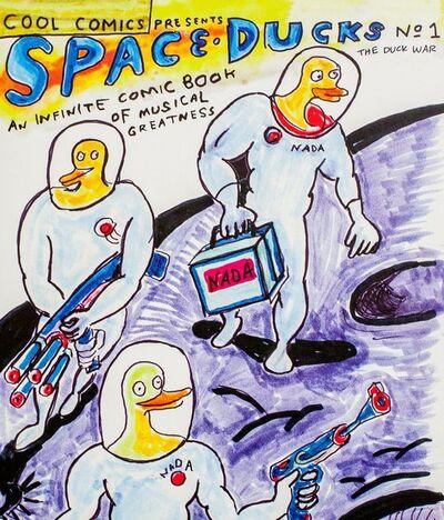 Daniel Johnston, 'Space Ducks: An Infinite Comic Book Of Musical Greatness', 2012