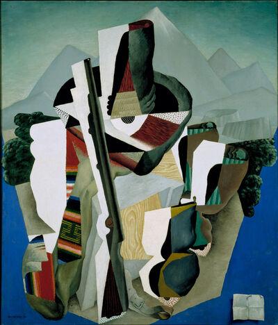 Diego Rivera, 'Paisaje zapatista', 1915