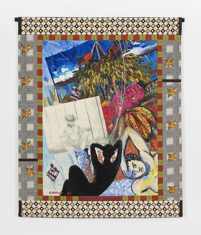Emma Amos, 'Malcom X, Morley, Matisse and Me', 1993