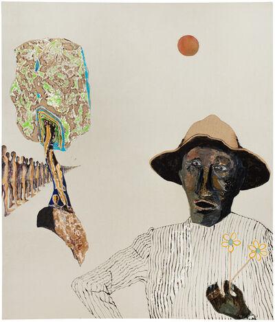 Benny Andrews, 'Louie', 1977
