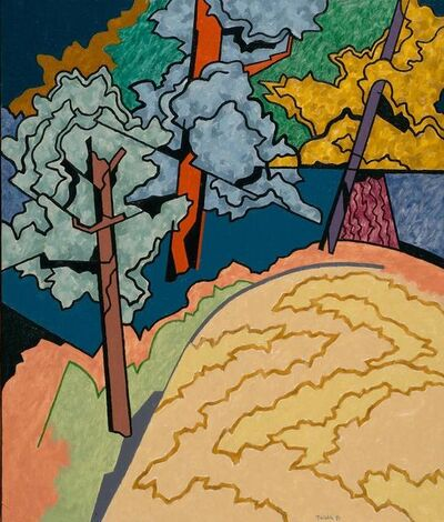 Easton Pribble, 'Maples and Oaks', 1991